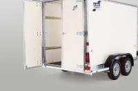 rear lockable door option