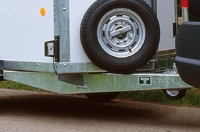 spare wheel fitted as standard